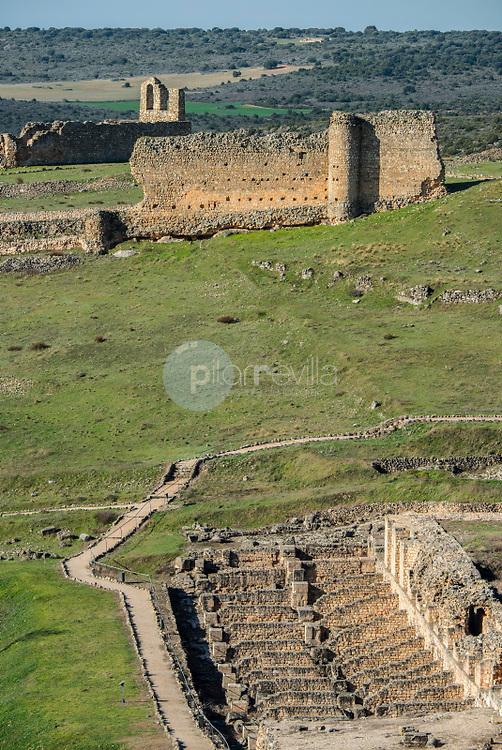 Parque Arqueológico de  Valeria. Cuenca. España ©ANTONIO REAL HURTADO / PILAR REVILLA