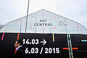 HONG KONG - MARCH 13: Preview day of art fair Art Central on March 13, 2015 in Hong Kong, Hong Kong.  (Photo by Lucas Schifres/Getty Images)
