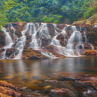 New England waterfall photography of Campton Falls south of the New Hampshire White Mountains in Campton, NH.<br /> <br /> Beautiful New England waterfall photography of Campton Falls are available as museum quality photography prints, canvas prints, acrylic prints, wood prints or metal prints. Fine art prints may be framed and matted to the individual liking and interior design decorating needs:<br /> <br /> https://juergen-roth.pixels.com/featured/new-hampshire-campton-falls-juergen-roth.html<br /> <br /> Good light and happy photo making!<br /> <br /> My best,<br /> <br /> Juergen