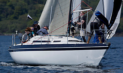 Sailing - SCOTLAND  - 25th-28th May 2018<br /> <br /> The Scottish Series 2018, organised by the  Clyde Cruising Club.<br /> <br /> First days racing on Loch Fyne.<br /> <br /> GBR461, Bombard, Colin Wood, Fairlie Yacht Club, Nicholson 30<br /> <br /> Credit : Marc Turner<br /> <br /> <br /> Event is supported by Helly Hansen, Luddon, Silvers Marine, Tunnocks, Hempel and Argyll & Bute Council along with Bowmore, The Botanist and The Botanist