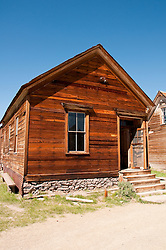 House, Lodging, Gold Mining Ghost Town, Bodie, Eastern Sierra, California, USA.  Photo copyright Lee Foster.  Photo # california121052