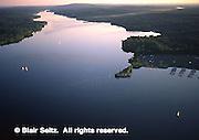 Aerial, Nockamixon State Park, lake, Bucks Co., Southeast Pennsylvania,