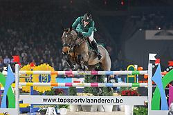 Smolders Harrie (NED) - Walnut de Muze<br /> Jumping Mechelen 2010<br /> © Dirk Caremans