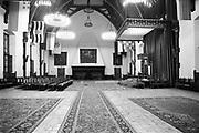 Nederland, Den Haag, 15-10-1986<br /> De Ridderzaal.leeg,lege,troonrede, koning, koningin,staatshoofd,regeringsverklaring,prinsjesdag<br /> Foto: Flip Franssen/Hollandse Hoogte