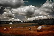 Scene of Misty Hills Farm near New Hope in Solebury Township, Bucks County, Pennsylvania.