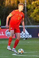 Football - 2023 UEFA U21 Championship - Qualifying - Group E - Wales vs Moldova - Steboneath Park, Llanelli<br /> <br /> William Sass-Davies Wales on the ball<br /> <br /> COLORSPORT/WINSTON BYNORTH