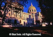 PA Capitol, from Northwest,  Joseph, Huston, Architect, Harrisburg, Pennsylvania
