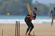 Sri Lankan cricket fans play on the beach prior to the first test match between England and Sri Lanka, Sunday, March 8, 2020, at Galle, Sri Lanka. The first match will be played between England and Sri Lanka will be played on March 19, 2020 in Galle.The second will start on March 27, 2020,in Colombo. (Nick Atkins-ESPA-Images/Image of Sport via AP)