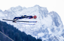31.12.2013, Olympiaschanze, Garmisch Partenkirchen, GER, FIS Ski Sprung Weltcup, 62. Vierschanzentournee, Qualifikation, im Bild Andreas Wank (GER) // Andreas Wank (GER) during qualification Jump of 62nd Four Hills Tournament of FIS Ski Jumping World Cup at the Olympiaschanze, Garmisch Partenkirchen, Germany on 2013/12/31. EXPA Pictures © 2014, PhotoCredit: EXPA/ JFK