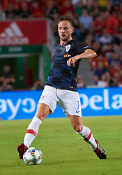 September 11, 2018 - Elche, U.S. - ELCHE, SPAIN - SEPTEMBER 11: Ivan Rakitic, midfielder of Croatia with the ball during the UEFA Nations League A Group four match between Spain and Croatia on September 11, 2018, at Estadio Manuel Martinez Valero in Elche, Spain. (Photo by Carlos Sanchez Martinez/Icon Sportswire) (Credit Image: © Carlos Sanchez Martinez/Icon SMI via ZUMA Press)