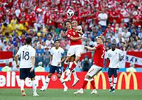 Thomas Delaney (Denmark)  and Steven Nzonzi (France)<br /> Moscow 26-06-2018 Football FIFA World Cup Russia  2018 <br /> Denmark - France / Danimarca - Francia<br /> Foto Matteo Ciambelli/Insidefoto