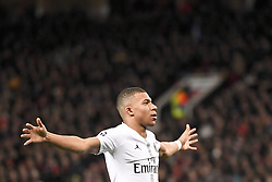 February 12, 2019 - Manchester, France - JOIE - 07 KYLIAN MBAPPE  (Credit Image: © Panoramic via ZUMA Press)