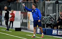 Fotball , 11. september 2015 ,   Eliteserien , Tippeligaen <br /> Strømsgodset - Haugesund 5-0<br /> trener  Bjørn Petter Ingebretsen , Godset