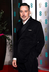 David Furnish attending the after show party for the 73rd British Academy Film Awards.
