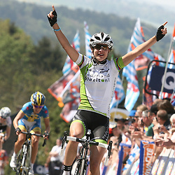 Marianne Vos wins the Worldcup race Fleche Wallone for the 3th timeSportfoto archief 2006-2010<br /> 2011<br /> Marianne Vos wins Fleche Wallone
