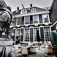 Nederland,Amsterdam ,21 januari 2008..Auteur Russell Shorto, directeur van het John Adams Institute, en auteur van het boek Nieuw Amsterdam, eiland in het hart van de Wereld.