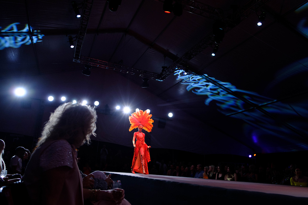 2019 Fashion Week El Paseo, in Palm Desert, California. Designer Emil Gampe shows his latest collection. Photos by Tiffany L. Clark