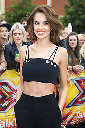 October 19, 2016 - File - Singer and X-Factor host CHERYL FERNANDEZ-VERSINI aka Cheryl Tweedy, who is now dating Liam Payne, is officially divorced. Married for 18 months, Cheryl, 33, and JEAN-BERNARD FERNANDEZ-VERSINI received the decree nisi Wednesday that terminates their marriage. Pictured: July 8, 2015 - Manchester, UK - Cheryl Fernandez-Versini arriving at the auditions for The X Factor 2015 on July 8, 2015 at Event City in Manchester, England  (Credit Image: © Famous/Ace Pictures/ZUMA Wire)
