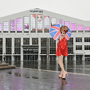 Arena, Wembley, London, UK. 5th December 2018: Comedy queen and RuPaul's Drag Race champion Bianca Del Rio arrives at London's SSE Arena, Wembley ahead of her huge UK arena tour in September 2019. Wembley will be the biggest ever solo drag show in the UK.