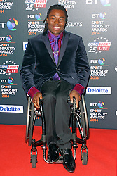 © Licensed to London News Pictures. 08/05/2014, UK. Ade Adepitan MBE, BT Sport Industry Awards 2014, Battersea Evolution, London UK, 08 May 2014. Photo credit : Brett D. Cove/Piqtured/LNP