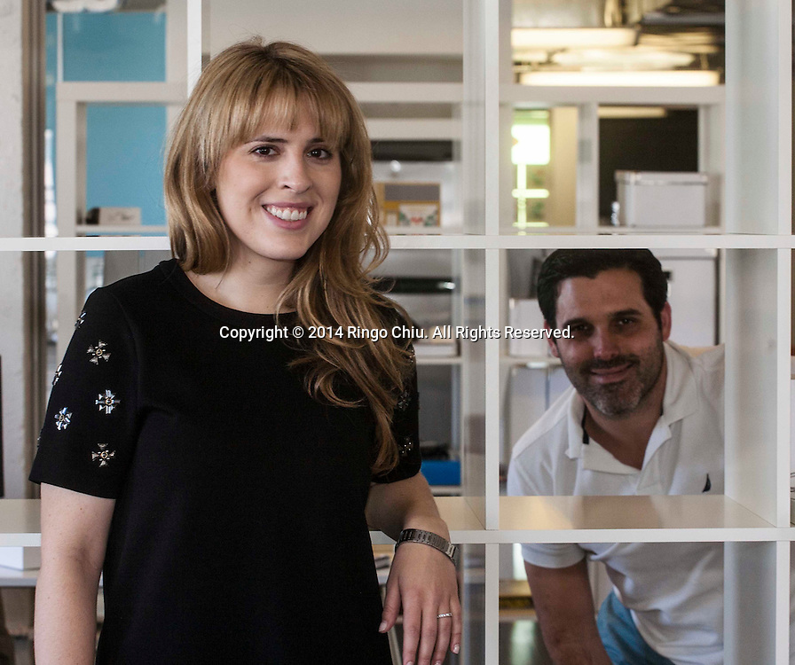 Jason Crilly and Holden Steinberg, co-founders of NearWoo in Santa Monica. (Photo by Ringo Chiu/PHOTOFORMULA.com)