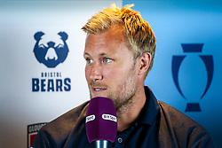 Jordan Crane of Bristol Bears at the launch of the 2018/19 Gallagher Premiership Rugby Season Fixtures - Mandatory by-line: Robbie Stephenson/JMP - 06/07/2018 - RUGBY - BT Tower - London, England - Gallagher Premiership Rugby Fixture Launch
