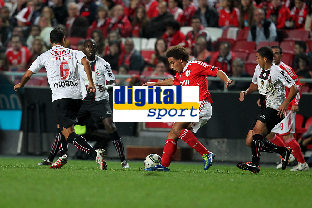 20111029: LISBON, PORTUGAL - SL Benfica vs Olhanense: Portuguese League 2011/2012. <br /> In photo: Benfica's midfielder Axel Witsel.<br /> PHOTO: Carlos Rodrigues/CITYFILES