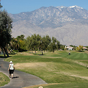 Mike and Luanne Buell, parents of Golden State Golf Tour player Danny Buell, are lone spectators at the Srixon Series Westin Challenge in Rancho Mirage, CA.
