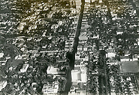 1928 Looking east at Hollywood and Hollywood Blvd.