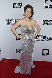 Debbie D'Souza at Death Of A Nation Los Angeles Premiere held at Regal L.A. Live: A Barco Innovation Center on July 31, 2018 in Los Angeles, California, United States (Photo by Jc Olivera for Jade Umbrella)
