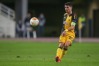 ATHENS, GREECE - OCTOBER 29: Petros Mantalosof AEK Athens during the UEFA Europa League Group G stage match between AEK Athens and Leicester City at Athens Olympic Stadium on October 29, 2020 in Athens, Greece. ((Photo by MB Media)