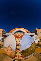 Anderson-Abruzzo Albuquerque International Balloon Museum, Balloon FIesta Park, Albuquerque, New Mexico USA