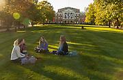 UW fall campus scene. (Photo © Andy Manis)