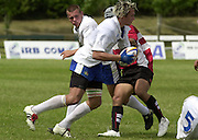 Oxford, England.<br /> <br /> IRB U21 Rugby World Cup - Iffley Road - Oxford <br /> 21.06.2003. Italy vs Japan, [Mandatory Credit: Peter SPURRIER/Intersport Images]  <br /> Italian No. 8 Sergio Parisse