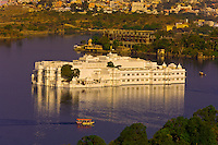 The Lake Palace Hotel on Lake Pichola, Udaipur, Rajasthan, India