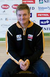 Andrej Krizaj of Slovenian Alpine Ski Team before new season 2008/2009, on Septembra 25, 2008, Ljubljana, Slovenia. (Photo by Vid Ponikvar / Sportal Images)