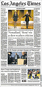 March 01, 2021 (USA): Front-page: Today's Newspapers In United States