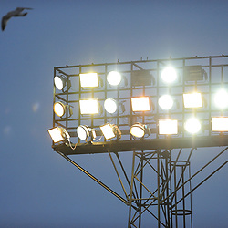 TELFORD COPYRIGHT MIKE SHERIDAN 12/1/2019 - general view external view of a floodlight during the Vanarama Conference North fixture between AFC Telford United and Hartlepool United at the Super Six Stadium.