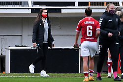 Megan Wynne of Bristol City Women - Mandatory by-line: Ryan Hiscott/JMP - 18/10/2020 - FOOTBALL - Twerton Park - Bath, England - Bristol City Women v Birmingham City Women - Barclays FA Women's Super League