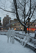 New York, west village,  W4 and christopher street Park