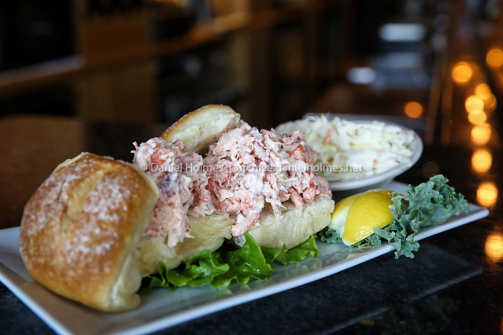 (7/12/15, NATICK, MA) The lobster sliders at the Dolphin Seafood Restaurant during restaurant week in downtown Natick on Sunday. Daily News and Wicked Local Photo/Dan Holmes