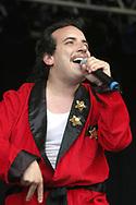 Har Mar Superstar - Sean Matthew Tillmann at the Glastonbury Festival, Somerset, Britain - 27 June 2003.