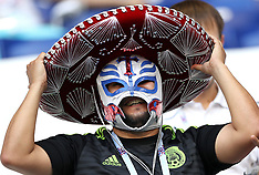 Brazil v Mexico- fans 2 July 2018