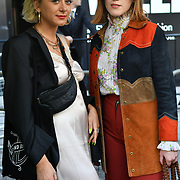 JESS DOOLAN,Mary Anne Costello attend London Fashion Week SS19 street photography at the Strand, London, UK. 17 September 2018.