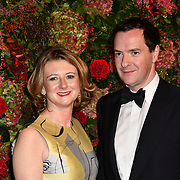 George Osborne and Frances Osborne attends Evening Standard Theatre Awards at Theatre Royal, on 18 November 2018, London, UK.