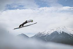 02.01.2021, Bergiselschanze, Innsbruck, AUT, FIS Weltcup Skisprung, Vierschanzentournee, Innsbruck, Qualifikation, im Bild Cene Prevc (SLO) // Cene Prevc of Slovenia during his Qualification Jump for the Four Hills Tournament of FIS Ski Jumping World Cup at the Bergiselschanze in Innsbruck, Austria on 2021/01/02. EXPA Pictures © 2020, PhotoCredit: EXPA/ JFK