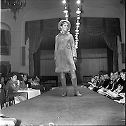 13/11/1967<br /> 11/13/1967<br /> 13 November 1967<br /> Irish Leather Federation, Leather Fashions at the Gresham Hotel, Dublin.<br /> Camel Suede semi fitted coat by Julian Vard.