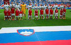 Players of Slovenia during the EURO 2016 Qualifier Group E match between Slovenia and England at SRC Stozice on June 14, 2015 in Ljubljana, Slovenia. Photo by Vid Ponikvar / Sportida