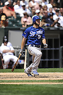 CHICAGO - JULY 06:  Eric Hosmer #35 of the Kansas City Royals bats against the Chicago White Sox on July 6, 2011 at U.S. Cellular Field in Chicago, Illinois.  The Royals defeated the White Sox 4-1.  (Photo by Ron Vesely)  Subject: Eric Hosmer