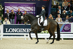 Vilhelmson Silfven Tinne, (SWE), Don Auriello<br /> Grand Prix Freestyle<br /> Reem Acra FEI World Cup Dressage - Goteborg 2016<br /> © Hippo Foto - Dirk Caremans<br /> 27/03/16